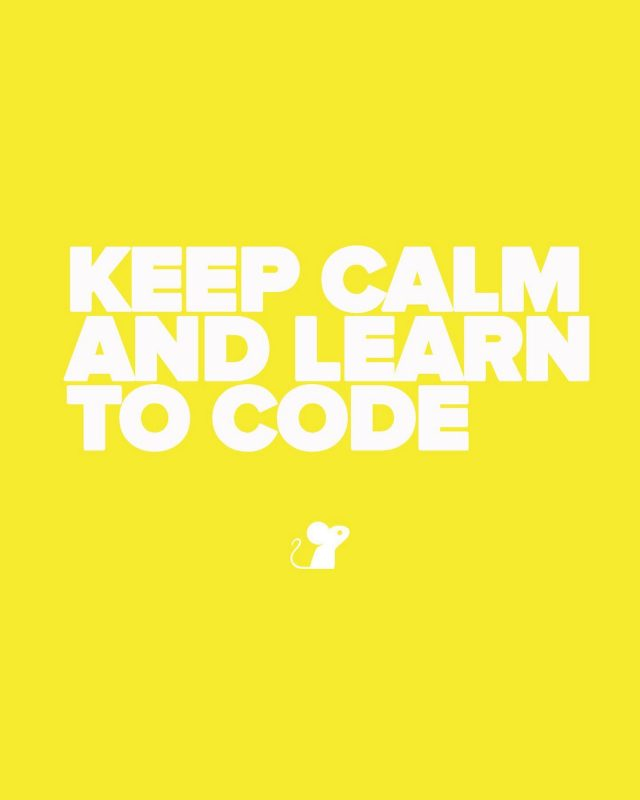 Learning to code can be life-changing. Just ask any member of the MouseCode team. Right now it's a crazy time in the jobs market, and with so many people facing uncertain futures across the board, we want to say, Keep Calm and Learn to Code! . Coding is about critical thinking and problem solving, and it can be incredibly rewarding. It opens up a multitude of job opportunities in tech, which is why many schools are now teaching coding from a young age. . Wondering where to start? Allow us to point you in the direction of @codeacademy. It's a fantastic resource and it's totally free. . We can also recommend @lewagonlondon, the coding bootcamp where MouseCode founder Clarissa began her new career. . #keepcalmandlearntocode #mousecode
